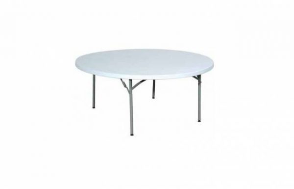 Table ronde 180 cm